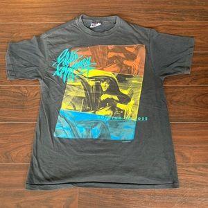 Vintage Concert Tour T-Shirt Eddie Money 1988 L
